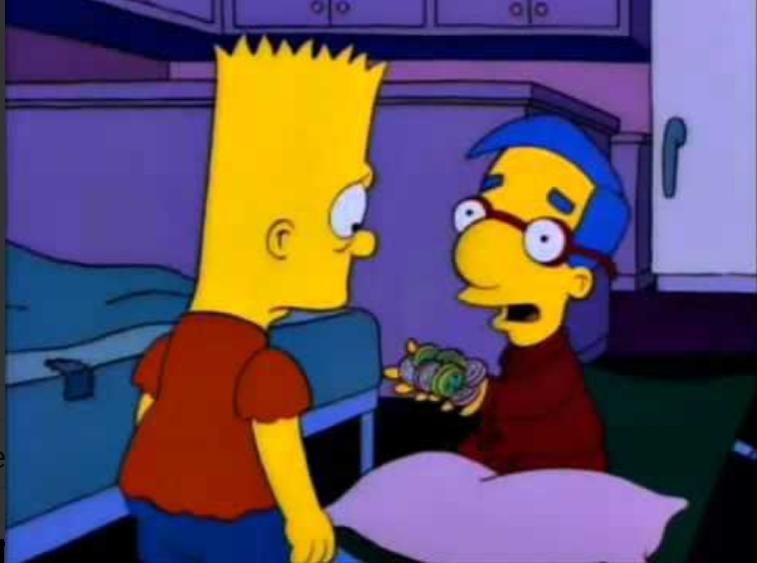 Bart ¿Te acuerdas de las estrellas? ¡Volvieron! ¡En formas de #Separadas !