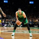 Image for the Tweet beginning: Halftime on @NBAonTNT:  @Lakers 55 @celtics 69  Enes