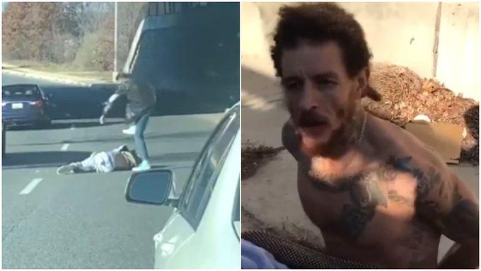 【影片】太慘了!詹姆斯前隊友遭到當街毆打,被狠踩頭部癱地不起,赤裸半身被拷在路邊!