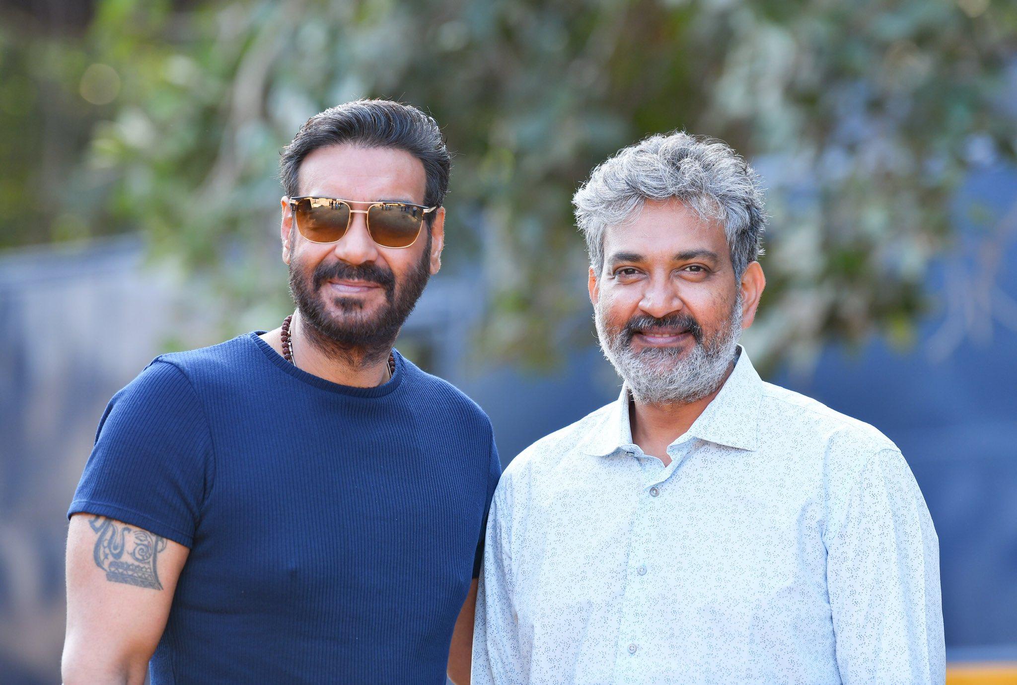 Ajay Devgn begins filming for SS Rajamouli RRR