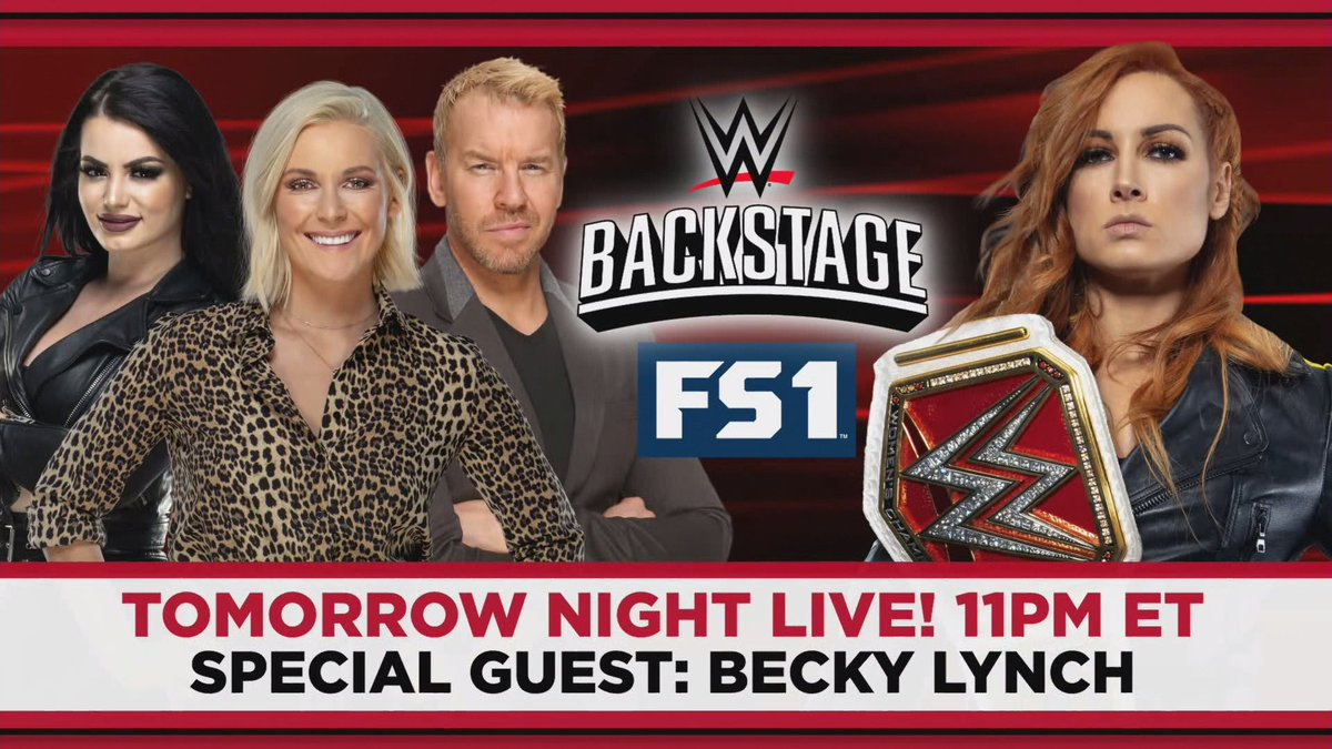 Becky Lynch Set As Special Guest For WWE Backstage This Week