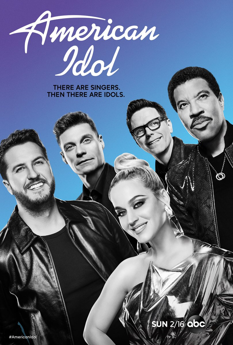 Check it out!!! It's our new official art for #AmericanIdol's new season!
