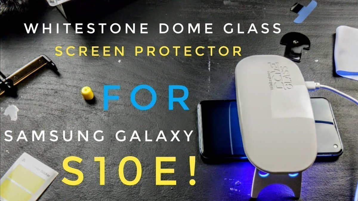 Samsung Galaxy S10e: Whitestone Dome Glass Installation! https://buff.ly/2HAOERo  via @YouTube #WhitestoneDomeGlass #GalaxyS10e #Samsung #screenprotector  protect your device with the best glass screen protector!  SHOP NOW > http://WHITESTONEDOME.COM pic.twitter.com/wF5nankZGG
