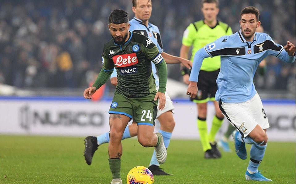 #CoppaItalia | Napoli y Lazio protagonizan un duelo más que atractivo en el arranque de los cuartos de final, a partir de las 16:45 en el Estadio San Paolo.