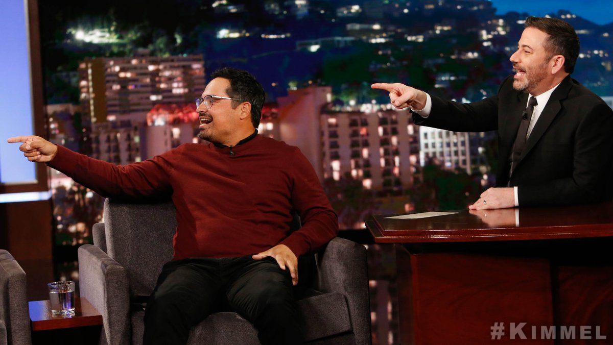 Good times with the very funny @RealMichaelPena ! 🤣