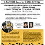 Image for the Tweet beginning: The #PoorPeoplesCampaign launches a Moral