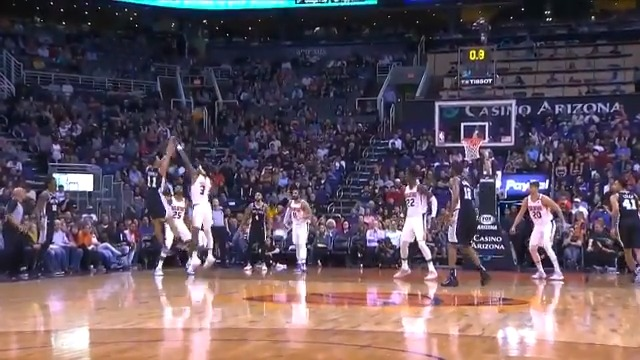 Bryn Forbes (21 PTS) beats the halftime buzzer to give him a career-high 7 threes made! 🚨  @spurs 66 @Suns 51  📲💻: https://nba.app.link/e/Watch_FREE1
