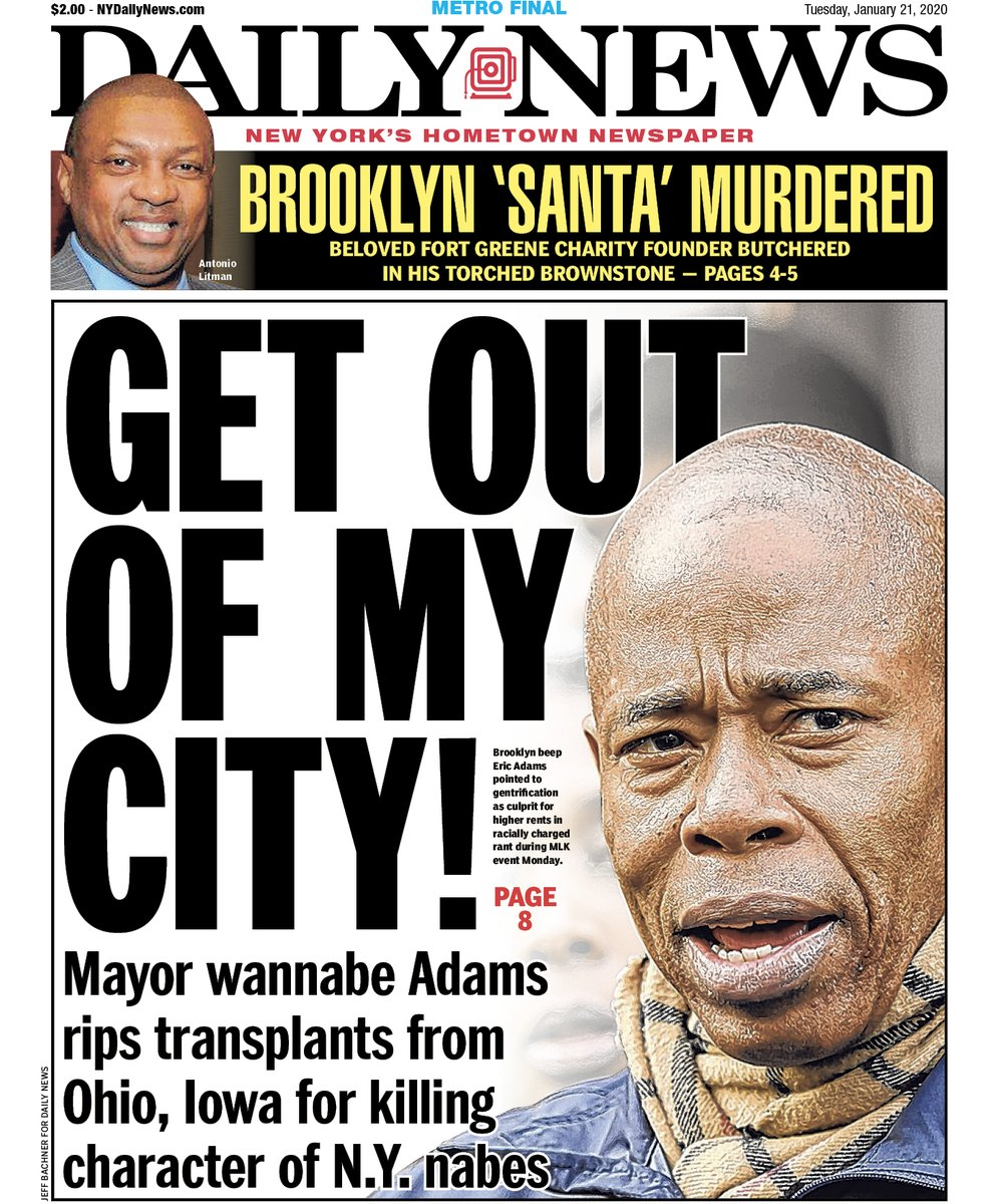 'Go back to Iowa,' Brooklyn leader tells recent New York transplants in controversial speech