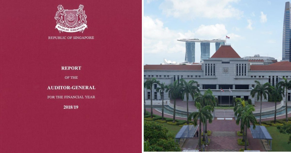 Govt auditor flags recurring lapses in accountability by S'pore ministries & public agencies http://bit.ly/2REXEr6pic.twitter.com/AKIQxgPqY8