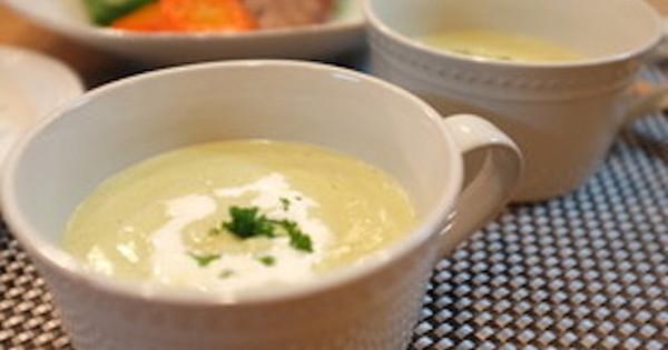【食欲がないときに】胃腸を元気にする「ブロッコリー×じゃがいも」のスープバリエ:…