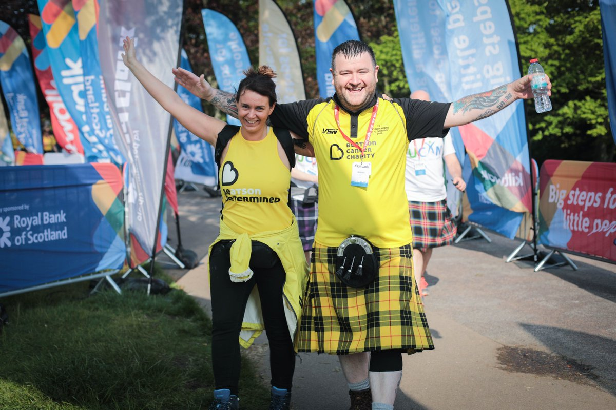 Sign up for the Kiltwalk 📝 Pick your charity🙌 @THunterF boost all your fundraising by 4⃣0⃣% 📈  Supporting a cause you care about couldn't be simpler! 👣👉   #Kiltwalk2020 #CharityTuesday