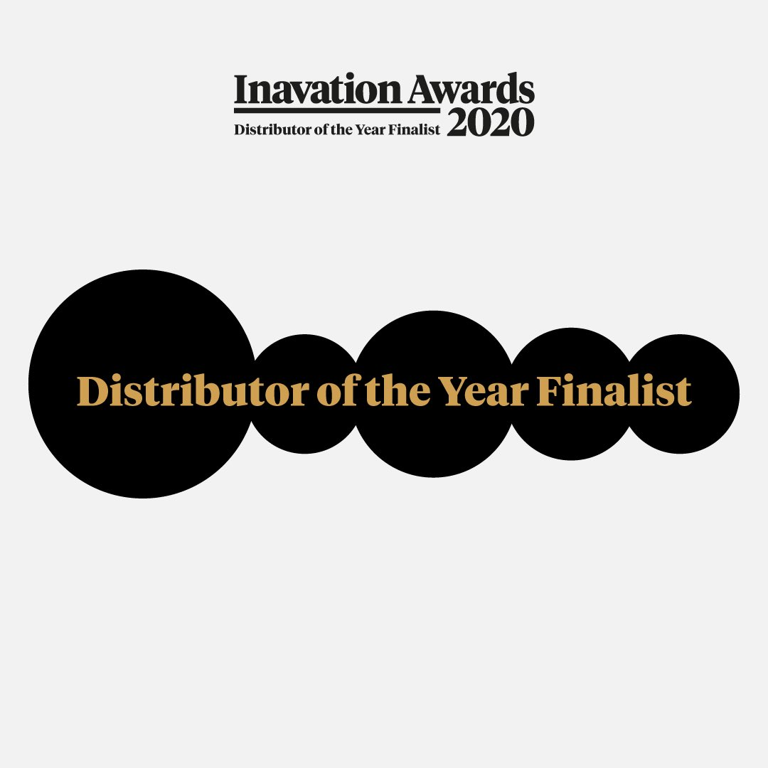 We're thrilled to be a finalist for Distributor of the year at the @inavate awards 2020! Thank you so much for your continued support!   #customintegration #custominstall #homeautomation #distribution #technology #integration #inavateawards2020 #inavateawardspic.twitter.com/rfKtnfsMlM