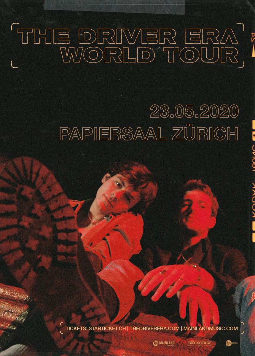#Switzerland The BAND @TheDriverEra with Ross Lynch & Rocky Lynch, is coming in Zürich at PapierSaal on May 23.  Get your tixs now:   Try to WIN FREE 2 Tickets:   #Bern #Zurich #Schweiz #Suisse #Geneve #Basel #Swiss