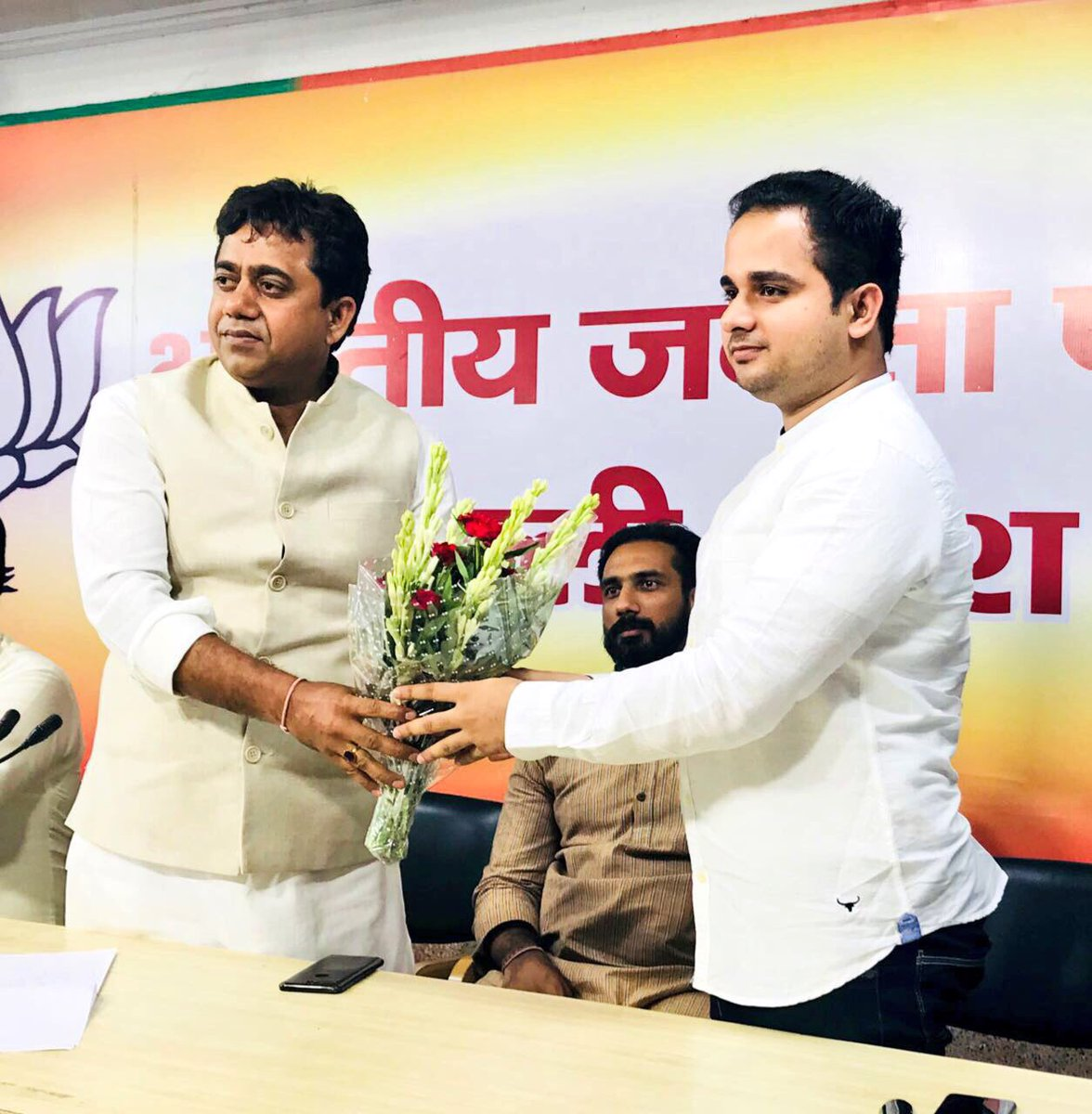 Congratulations & Best wishes to @BJYM Delhi State President @SunilYadavBJP ji on being selected as @BJP4Delhi candidate for New Delhi Assembly Constituency!   #VoteForBJP #VoteForModi on 08th February 2020 pic.twitter.com/Y596SCmHMj
