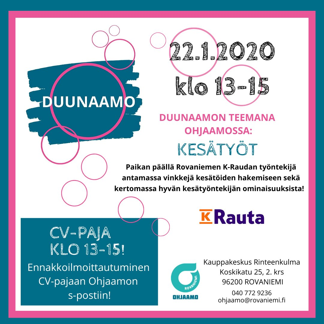 Rovaniemi viikko 2020