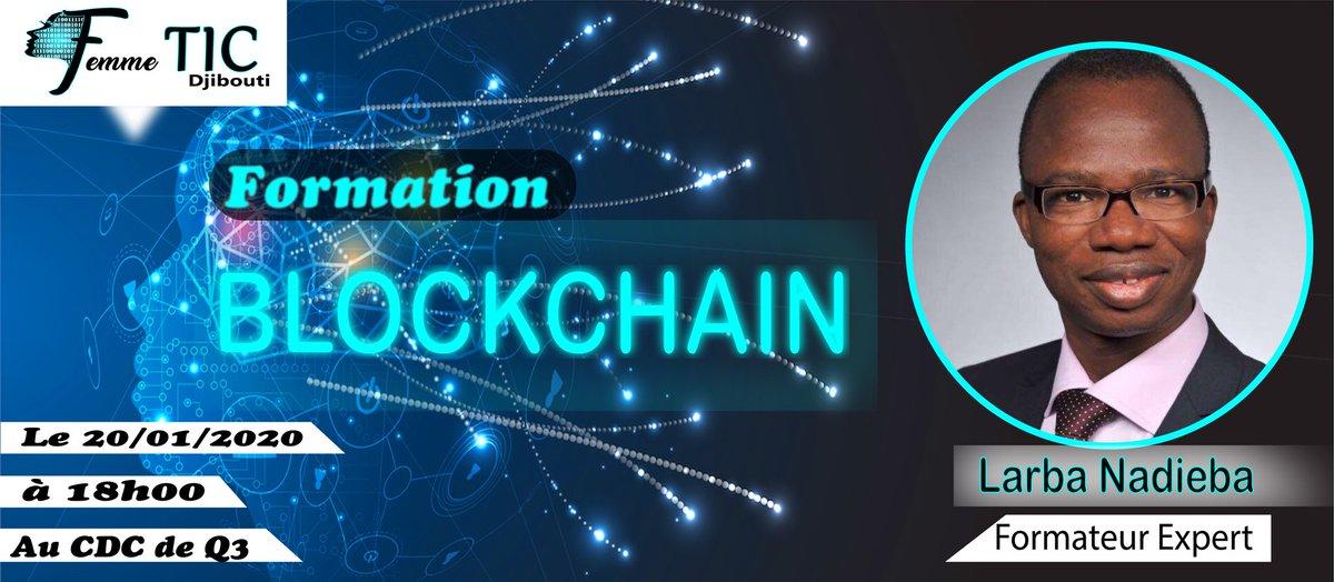 Nous commençons cette nouvelle année par une formation sur le thème 《Comprendre la technologie #Blockchain et ses enjeux  sociétaux 》animé par @lnadieba_dtc,expert international de la communauté Blockchain. L'objectif de cette formation est de permettre aux femmes de s'intégrerpic.twitter.com/F0cD8mPS59