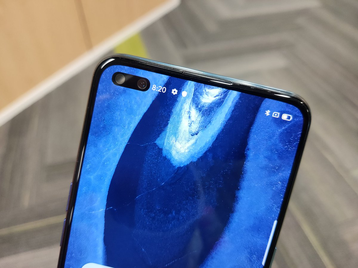 Oppo Reno 3 Pro To launch soon featuring dual punch hole with Selfie camera featuring as the world's First 44Mp+2Mp  #Oppo #opporeno3 #OPPOReno3Propic.twitter.com/25f4YssiNt