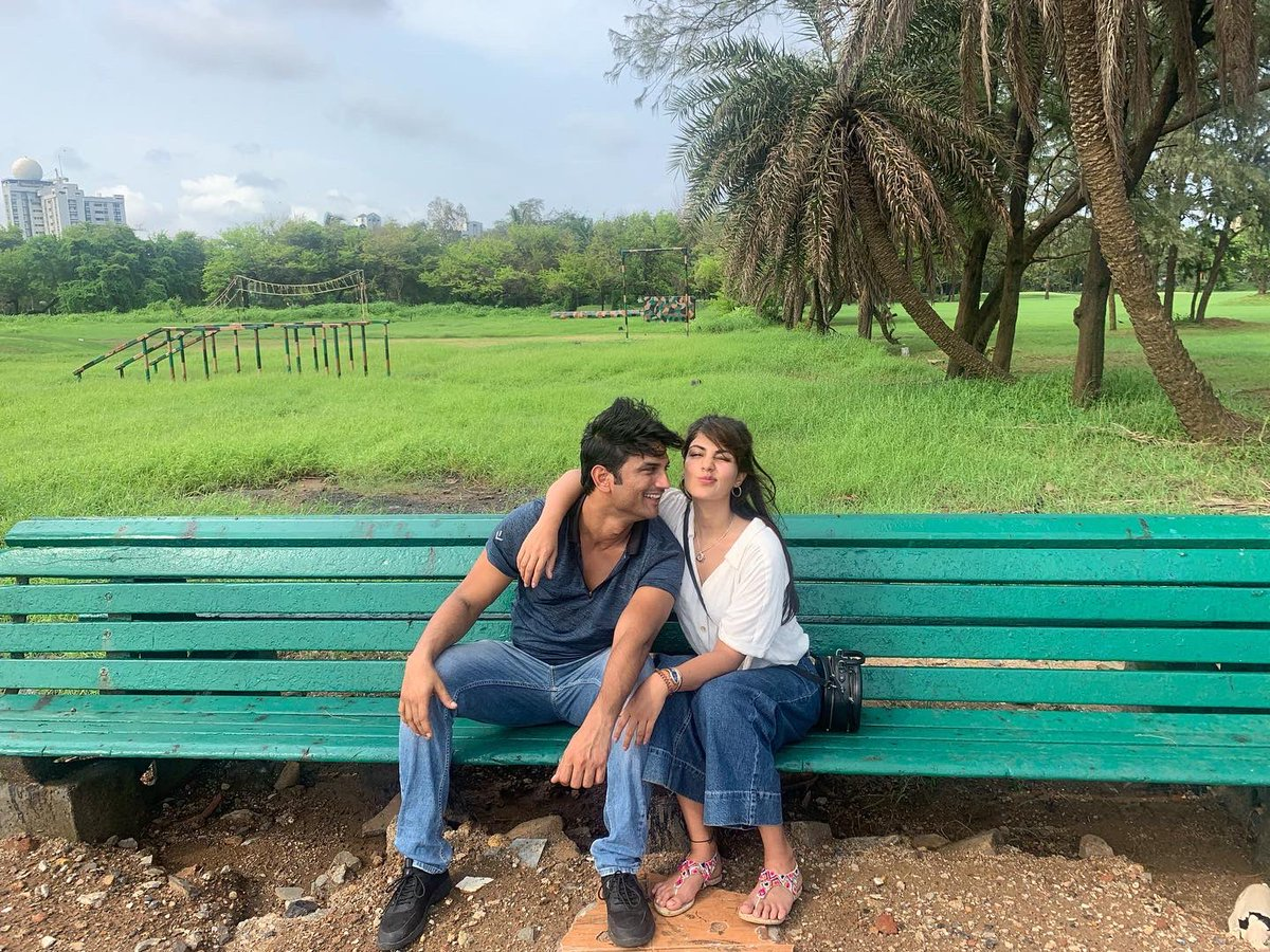 Rhea Chakraborty makes her relationship with Sushant Singh Rajput official