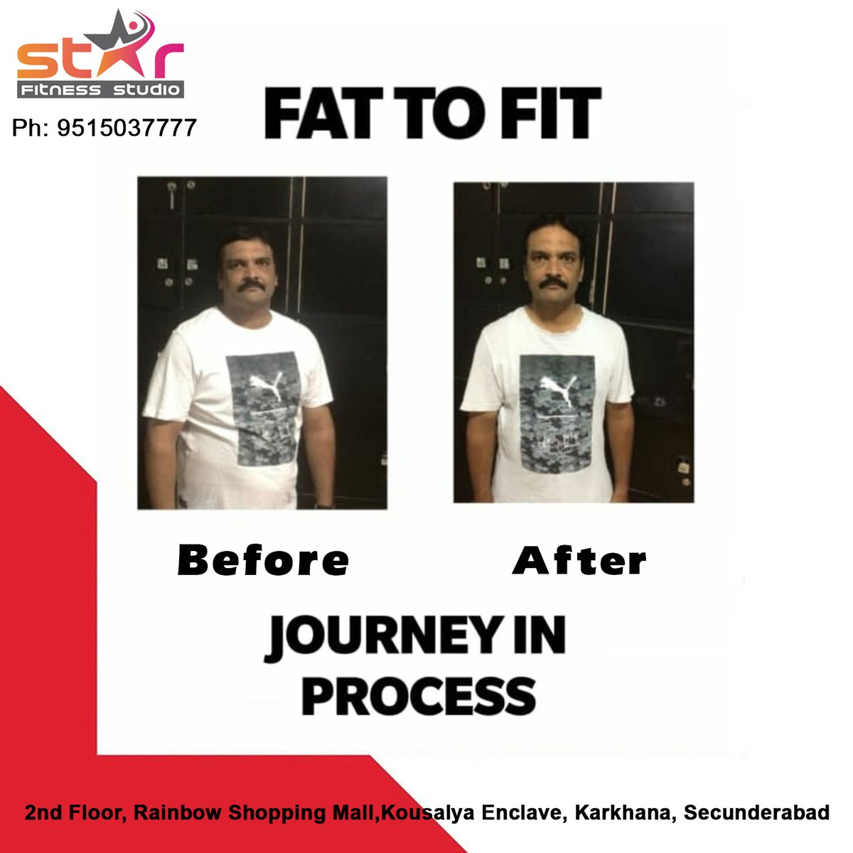 This is the perfect place to get Your weight goal reached by Starfitnessstudio.   Ph: 9515037777  #starfitnessstudio #fitnessstudio #fitness #workout #gym #fit #training #personaltrainer #fitfam  #sport #bodybuilding #motivation #personaltraining #fitnessmotivation #fitnessclub