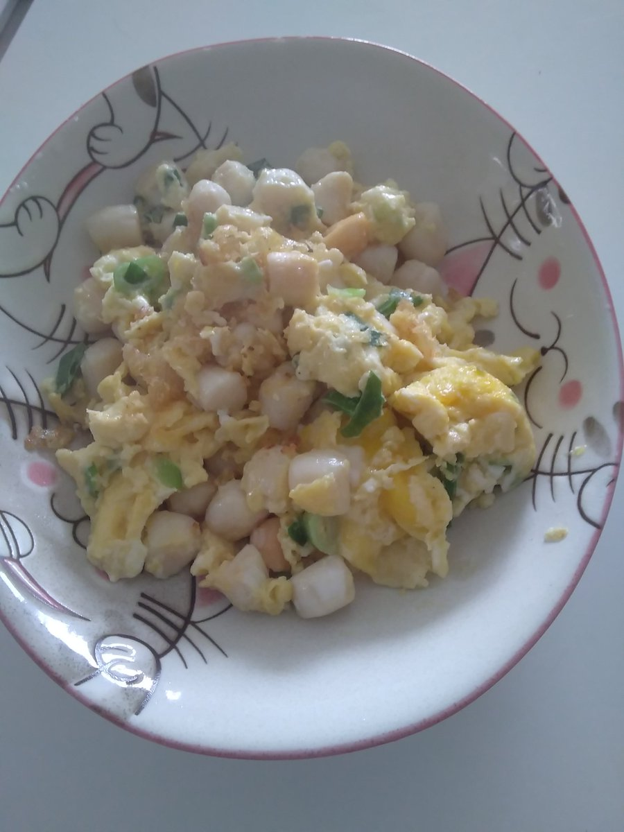 Stir fried scallops and eggs #HealthyEating #weightlossjourney <br>http://pic.twitter.com/hifyBsRe5f