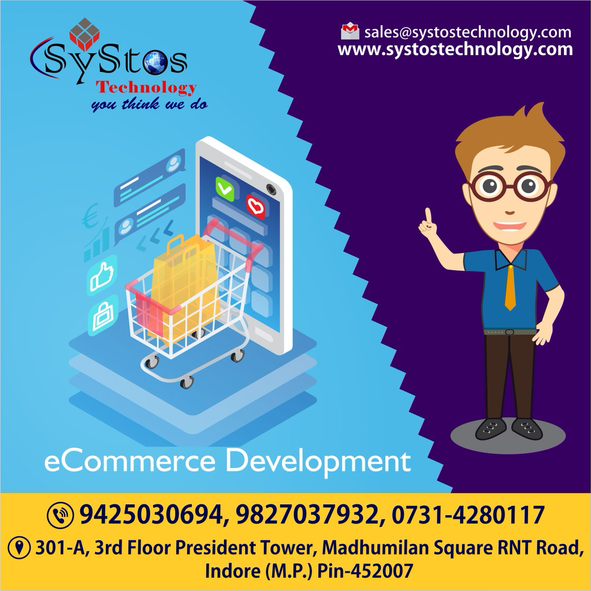 Grow your Business with our eCommerce solutions.  http://www.systostechnology.com  #eCommercesolutions #website #ITservices #ITcompany #websitedevelopment #webapplication #softwaredevelopment #mobileapp #mobileappdevelopment #androidapps #iosapps #SEO #SMO #PPC #adwords #digitalmarketingpic.twitter.com/Rwi08HucpX