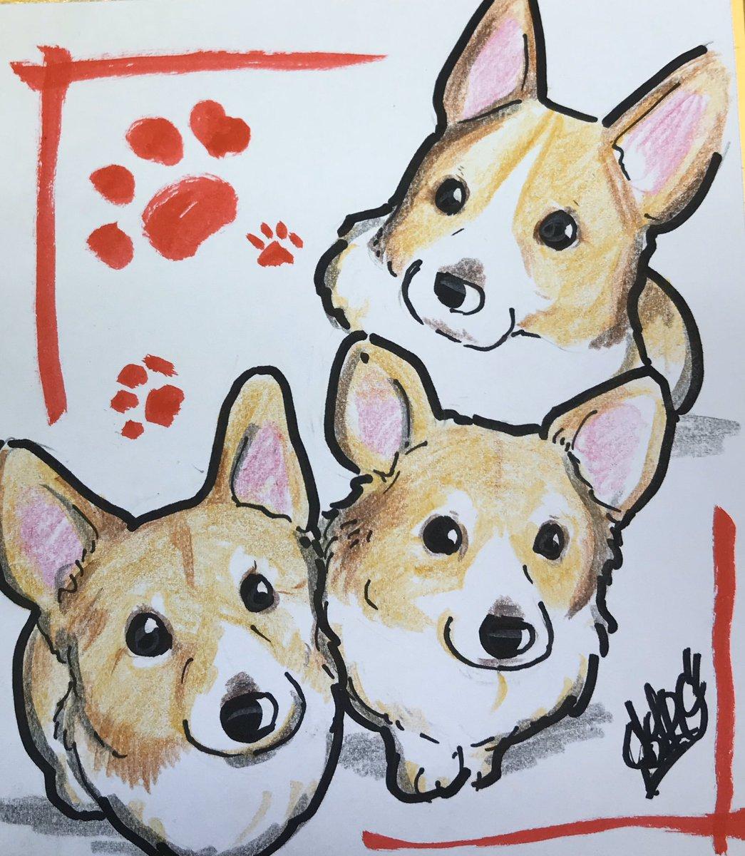 リクエストイラスト      #dog #犬 #illustration #イラスト #art #artist #illustrator #絵描き #painting #drawingart #graffiti #pencil #イラストレーター