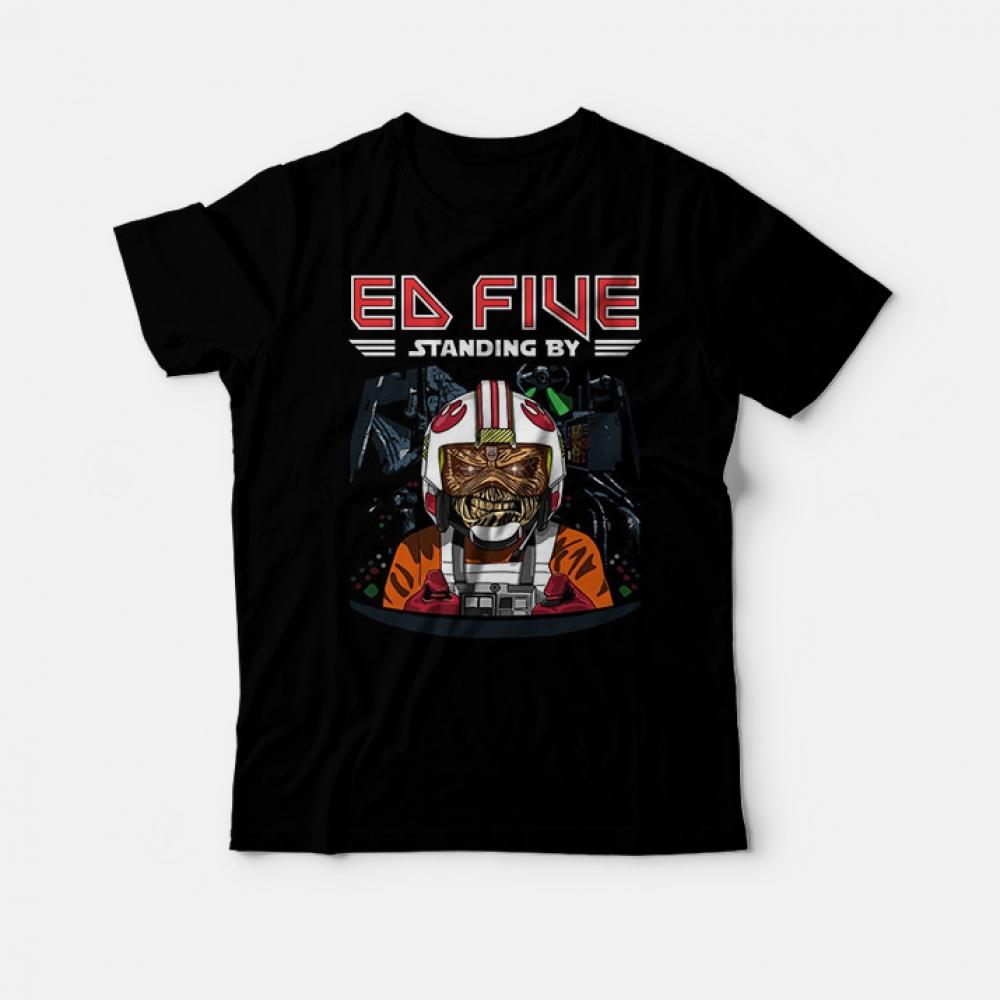 Ed Five Standing By - Iron Maiden Logo T-Shirt 13.50 Sale Price 📷 $ 14.50  Link:  #tshirts #shirts #fashion #needshirt #trending #sweatshirt #hoodie #graphic #ootd #gifts #outfit #need #popular #needshirt #ineedshirt