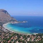 Image for the Tweet beginning: Buongiorno fa Mondello (Palermo)😘😘😘