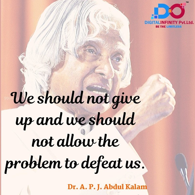 #Repost Winning doesn't always mean being first. Winning means you're doing better than you've ever done before.  .  . #digitalinfinity #APJAbdulKalam #thoughtoftheday  Like, share & Follow us for more interesting facts @digitalinfinityindia
