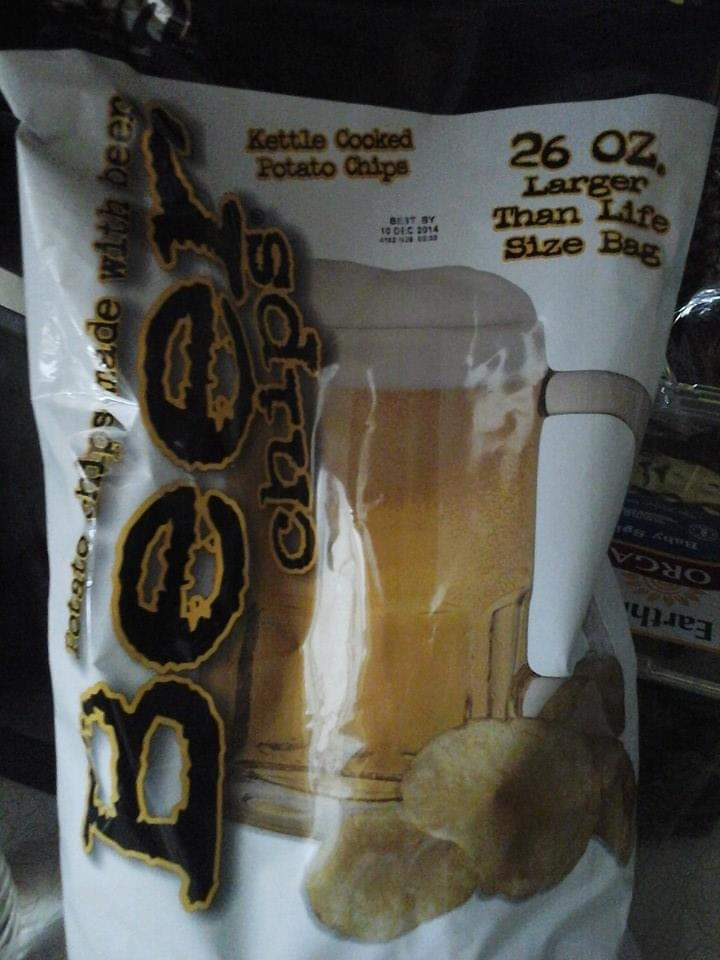 Beer chips is all I need!pic.twitter.com/giK7IIO7Qn