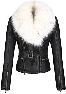 100% Polyurethane (Shell) 100% Polyester (faux fur lining ) Imported 100% Acrylic (Fur Collar), Detachable Faux Fur Collar.Spritz the fur with water, very lightly. Then use a blow dryer, it works awesome. <br>http://pic.twitter.com/CoiOG9kURs