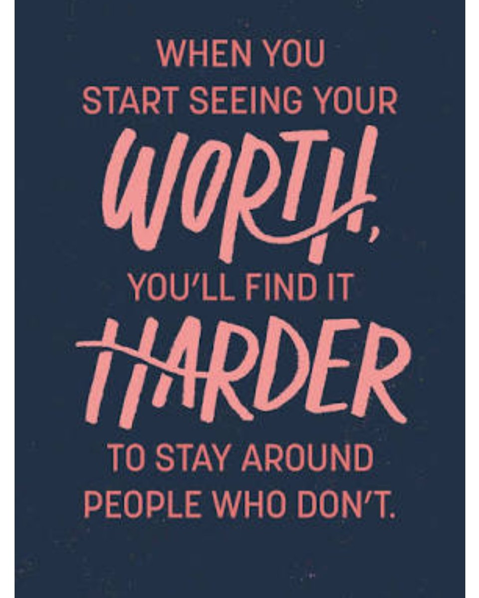 Always stay with the people who recognize your worth #goodmorning #Twitterfam #TuesdayMotivation #TuesdayThoughts #TuesdayMorning #tuesdayvibes #tuesday #valueyourself pic.twitter.com/ska98ickDP