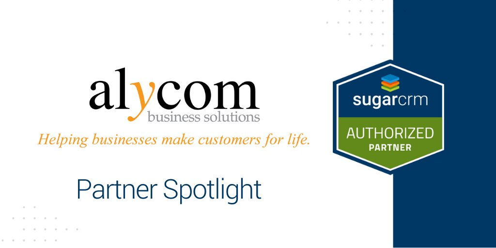 Meet Authorized Reseller Alycom Business Solutions (@customers4ever) and learn how time-consuming #CRM tasks are made easy with smart @SugarCRM add-ons: https://www.makecustomersforlife.com/smartcrm/  #CXpic.twitter.com/dPFmDaYZqq