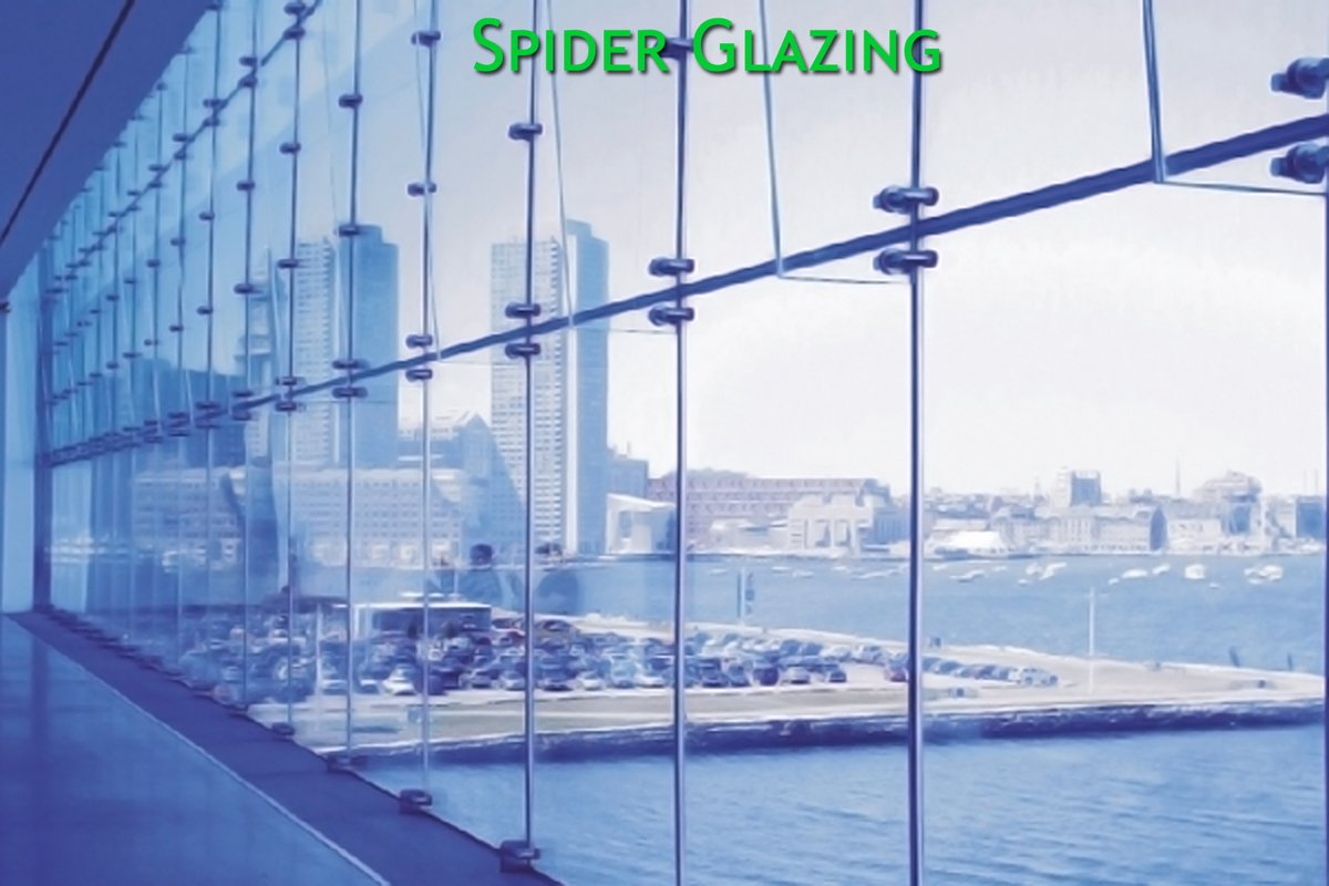 Ashmii On Twitter Spiderglazing Is A Very Flexible And Contemporary Design Medium That Can Create Designs With Vast Expanse Of Glass Frame Less Entrances And Canopies Contact Ashmii For Spiderglazingservices Spiderglazingcontractors Https T Co