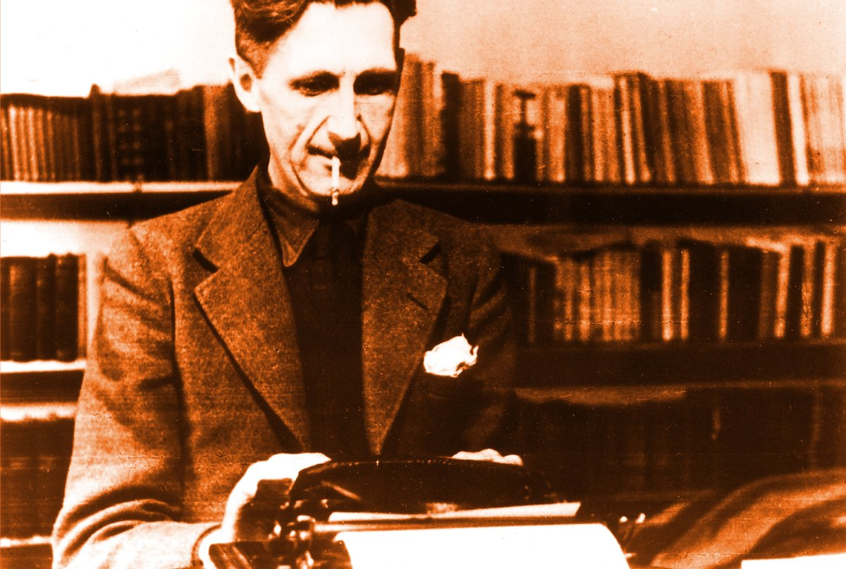 'Who controls the past controls the future. Who controls the present controls the past.' Nineteen Eighty Four by George Orwell, who died #onthisday in 1950. #TuesdayThoughts #OrwellDay
