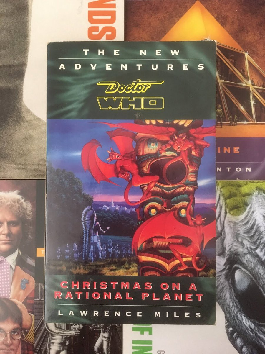 """#DoctorWho #NewAdventures 52: Christmas On A Rational Planet reviewed. One of the range's """"weird"""" books, funky and baffling in near equal measure... https://neilisthebestdalek.blogspot.com/2020/01/doctor-who-virgin-novels-79-christmas.html?m=1…pic.twitter.com/JZ92QZo0dE"""