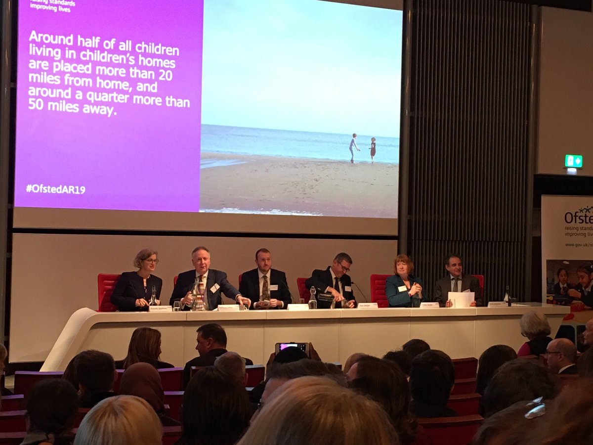 This morning @NASBTT is pleased to attend the launch of the @Ofstednews annual report. #ITT