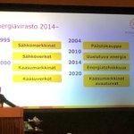 Image for the Tweet beginning: 25-vuotias @Energiavirasto on ollut monessa