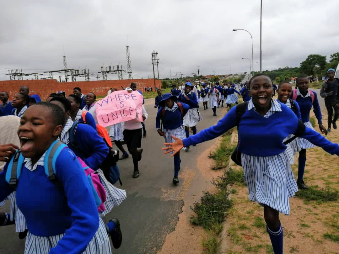 We have seen women leading a revolution in Sudan. They are leading another one in Iran. In Zimbabwe, these school girls have challenged us with a thunderous  signal. What more signal are we waiting for? We must arise! #EnoughIsEnough<br>http://pic.twitter.com/AGkKvI24MY