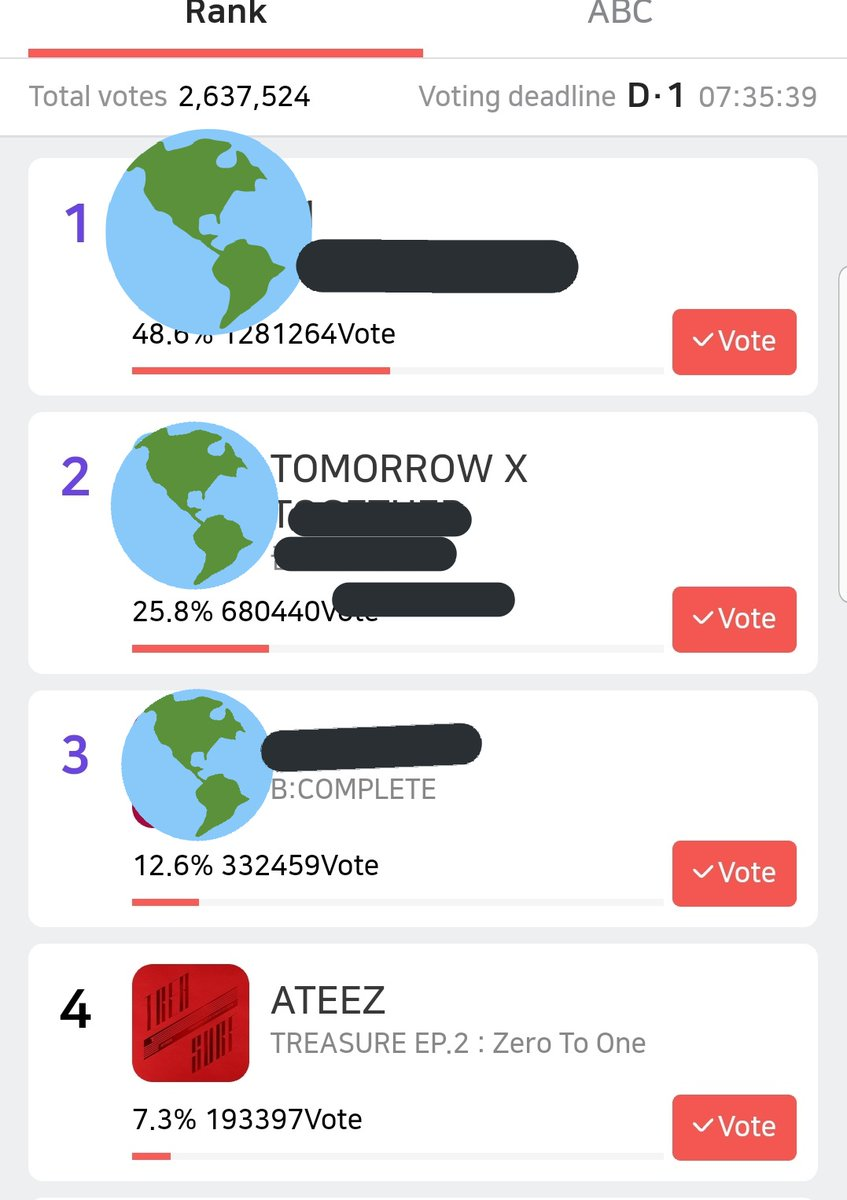 Ateez just released the light stick and it was even more beautiful than we could've imagined and so much of their love for Atiny is in it. Voting for them on SMA for ROTY is so simple and quick. Cant you do that for them after the gift they just gave us? Please vote  <br>http://pic.twitter.com/gKAuzDUrCt