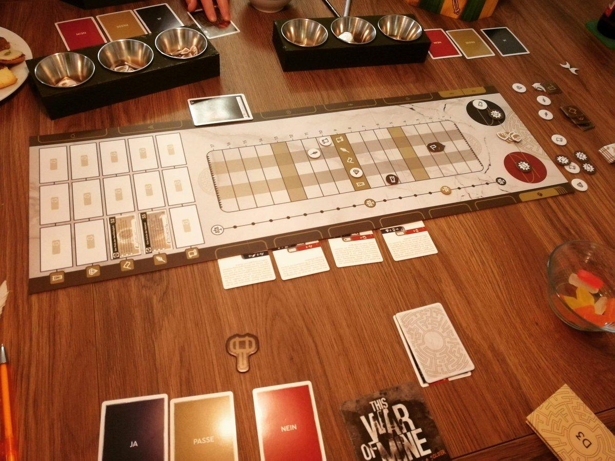 Seit gestern liegt das Schicksal von Ankist in unseren Händen #kingsdilemma #boardgames #brettspiele #spieleabend #brettspiel #boardgame @horribleguild @HeidelbaerGamespic.twitter.com/9BtVTO47XU