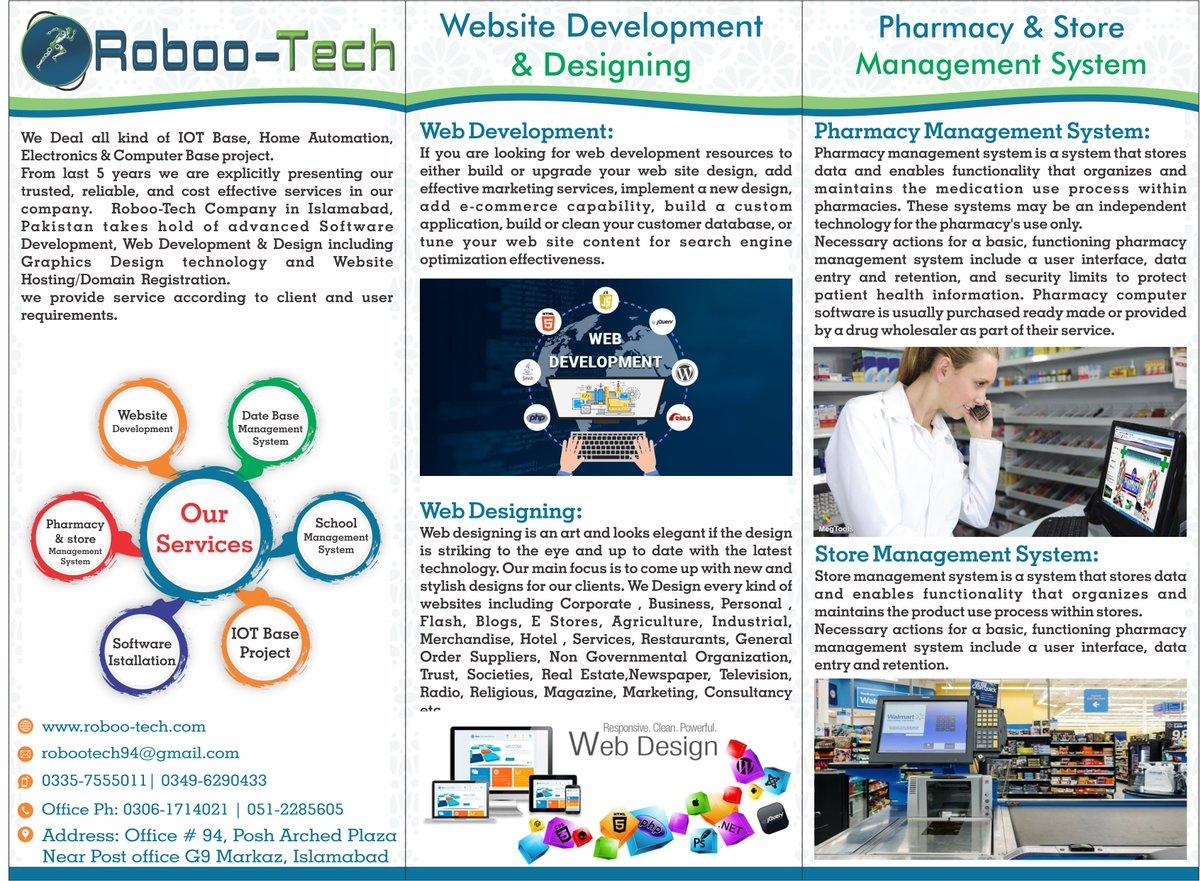 We deal all kinds of IOT, Electronics, Robotics, Hardware, Software, Management Systems & Business Website Development base projects. #naya pakistan<br>http://pic.twitter.com/FSddP00eml