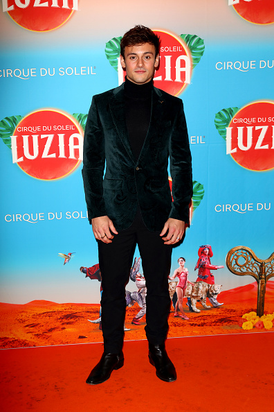 Tom Daley hits the red carpet in suave Ted style.  Shop formalwear:  http:// bitly.com/38pyyTX    <br>http://pic.twitter.com/I5bMCUE1Yx