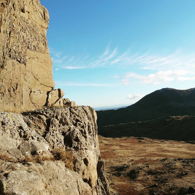 A wicked picture here by @b3n__18, looks like you got lucky with the weather!  'Great day out giving Trad climbing a go at Black Crag 🧗♂️ #lakedistrictclimbing'  #guidebase #climbing