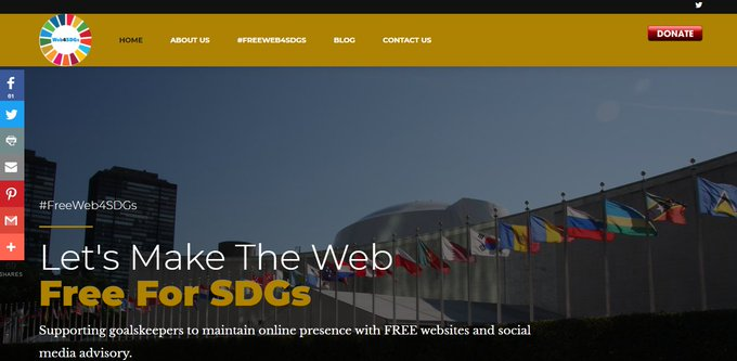We are glad to announce that the applications of these organizations' were successful for a FREE website under our #FreeWeb4SDGs initiative.  We got a total of 24 applications; 17 came from Nigeria & 1 each from Zimbabwe, Angola, Burundi, Uganda, Kenya, Cameroon, Tanzania.   <br>http://pic.twitter.com/ngBDSFxBbg
