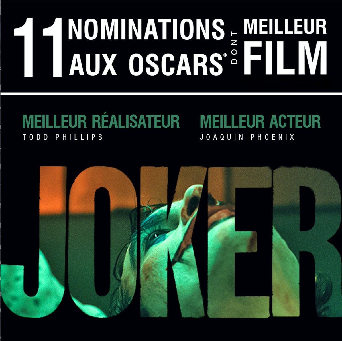 ✅ Golden Globe, ✅ BAFTA, ✅ SAG Award, ⬜️ Oscar... Joaquin Phoenix fera-t-il un sans faute ➡️ bit.ly/JokerOscars