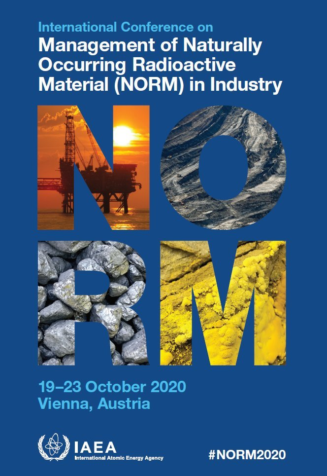 Call for Papers❗️ Submit abstracts for @iaeaorgs International Conference on the Management of Naturally Occurring Radioactive Materials (NORM) in Industry by: 🗓️28 February ▶️More on the topics: bit.ly/37cCG9O #NORM2020
