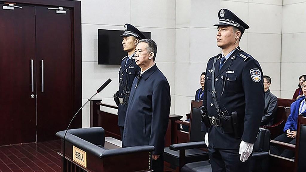 Expresidente de Interpol sentenciado a prisión