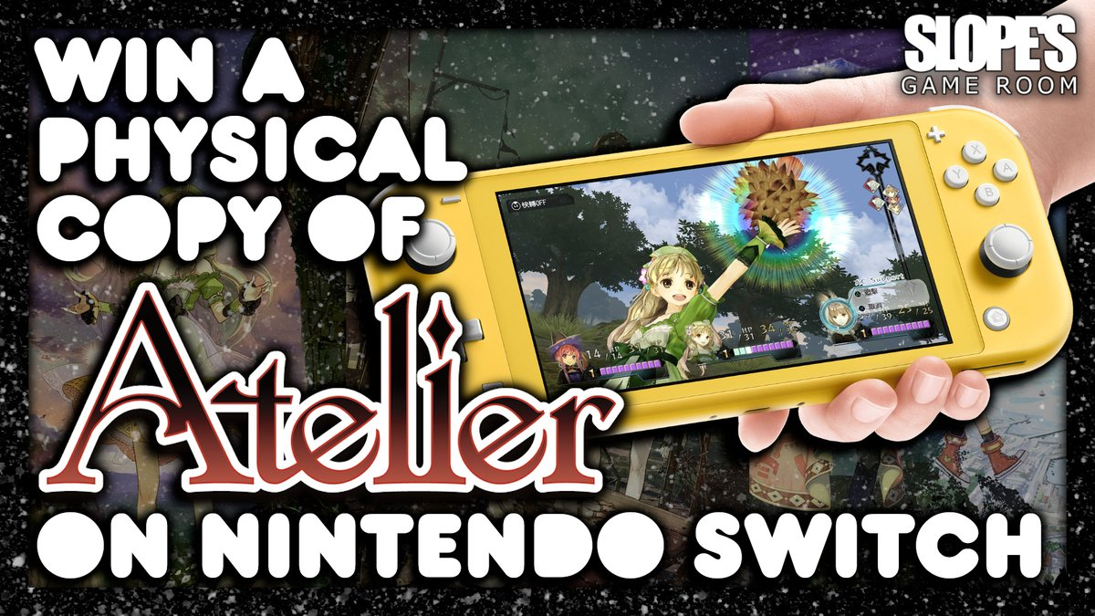 Want to win yourself a copy of #AtelierDuskTrilogy on #NintendoSwitch? then head on over to my competition page and get your entries in :D xxx GOOD LUCK xxx -DJ Slope https://t.co/I2reVsN31U https://t.co/eOELVgZ4vK