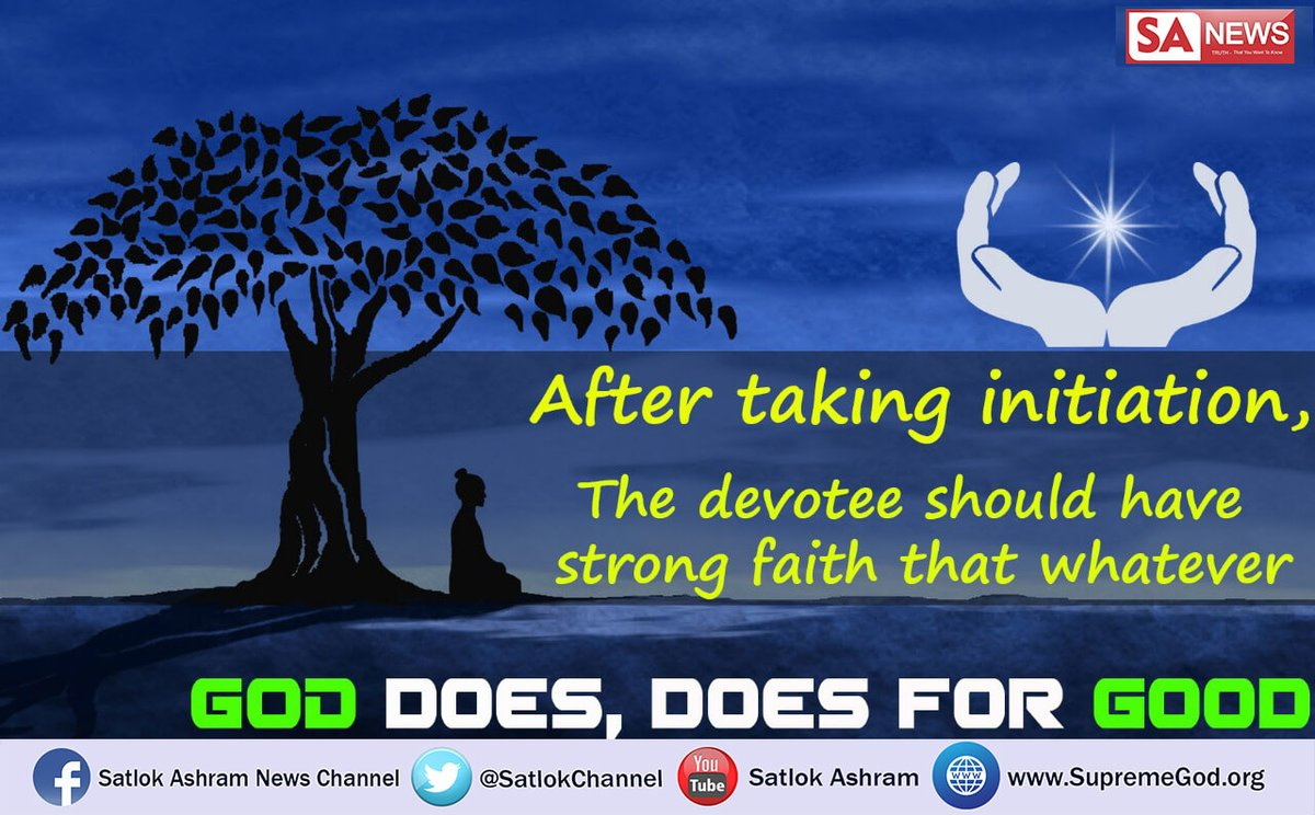 #GodMorningTuesday Actual spritual knowledge is given by satguru only who himself chants true mantras and condemns other worship which are not according to the Holy scriptures and narrates about immortal abode, Satlok See Sadhana TV channel  at 7:30 pm IST #TuesdayMotivation<br>http://pic.twitter.com/tpxtUXvOPK